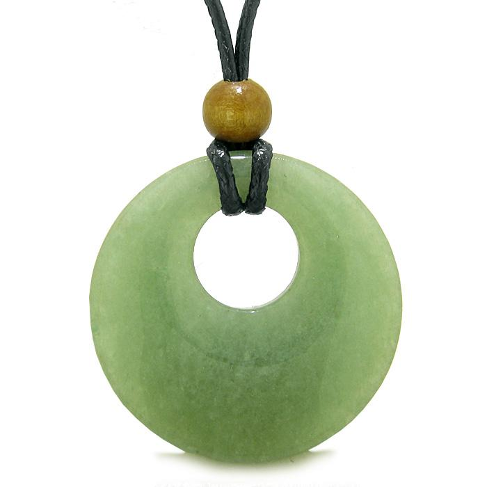 Natural Gemstones Go Go Donuts Lucky Medallions Amulets Talismans
