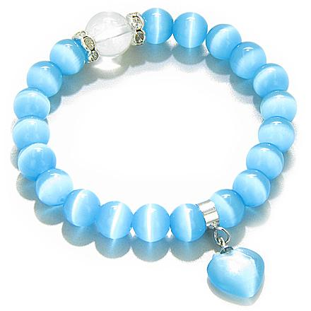 Cats Eye Crystals Good Luck Bracelets Jewelry and Gifts