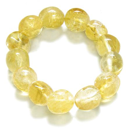 Citrine Gemstone Crystal Good Luck Bracelets Jewelry and Gifts