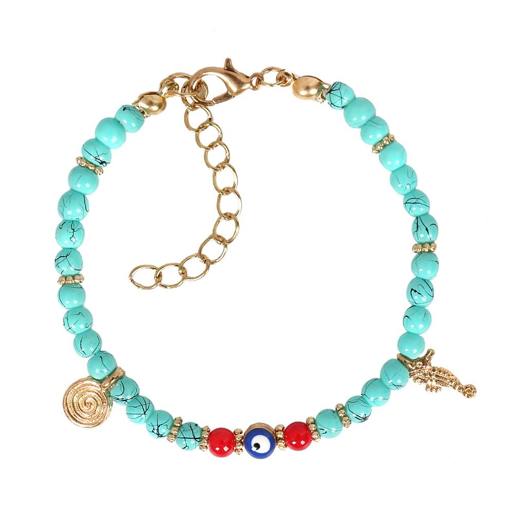 Turquoise Crystals Good Luck Bracelets Jewelry and Gifts