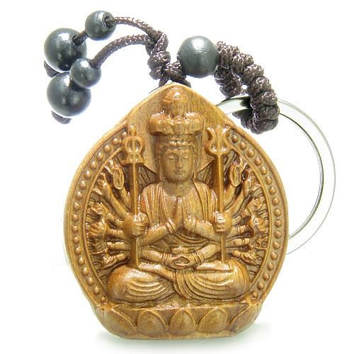 Amulets and Talismans Lucky Kwan Yin Quan Magic and Good Luck Powers Keychains and Gifts