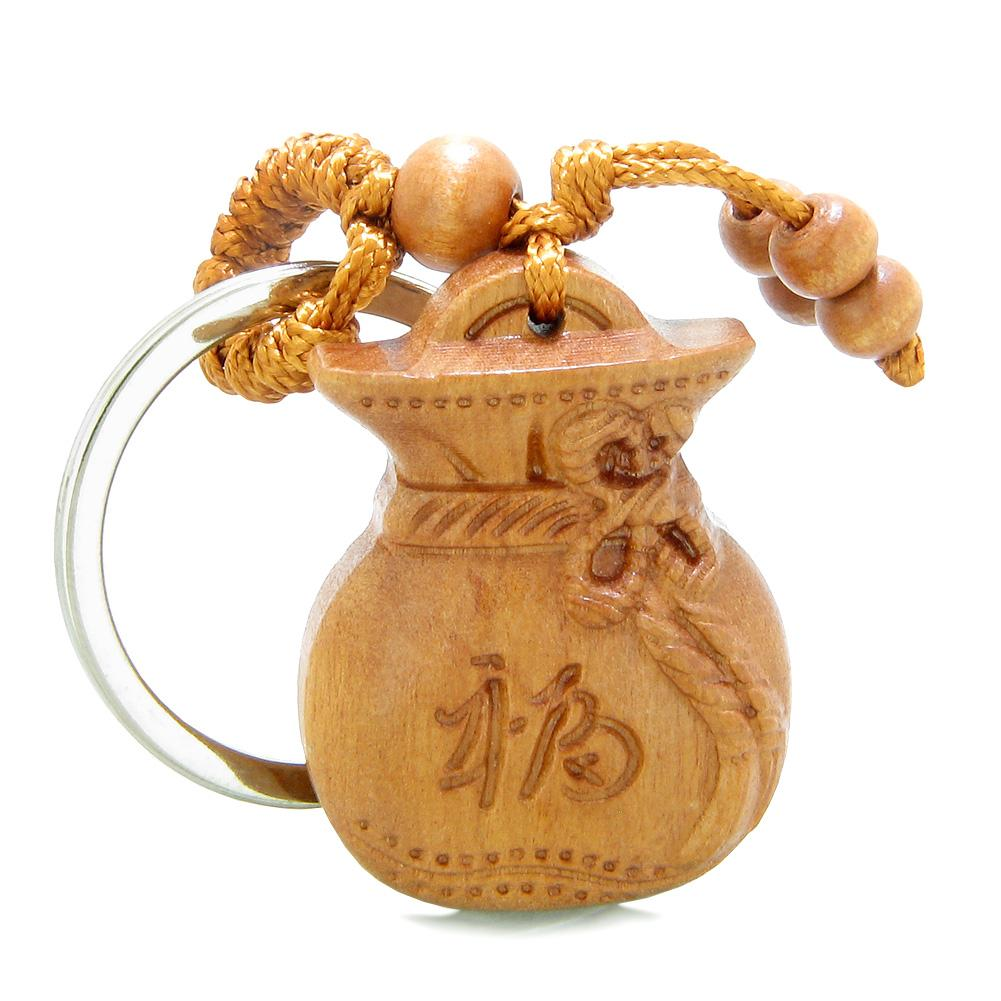 Amulets and Talismans Magic Money Bag Fortune and Good Luck Powers Keychains and Gifts