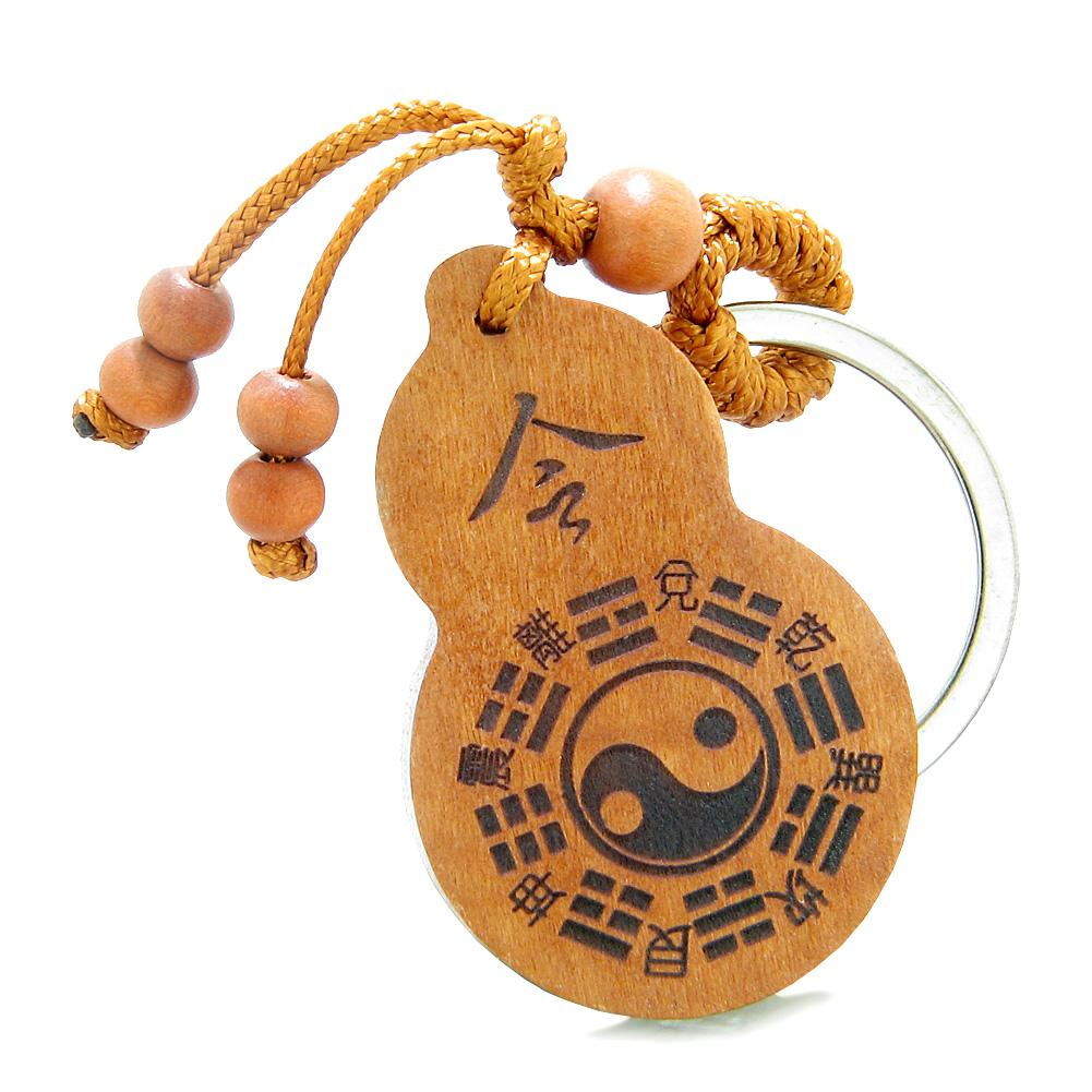 Amulets and Talismans Lucky Yin Yang Magic Good Luck Powers Keychains and Gifts