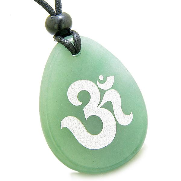 Tibetan Om Ohm Symbols Mantra Magic Wish Stones Jewelry Amulets and Talismans