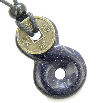 Positive Energy Talisman Goldstone Crystal Feng Shui Gifts and Jewelry