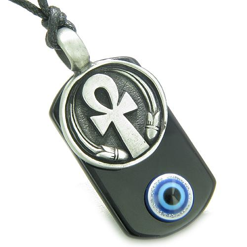Protection From Evil Eye Dog Tag Jewelry and Amulets