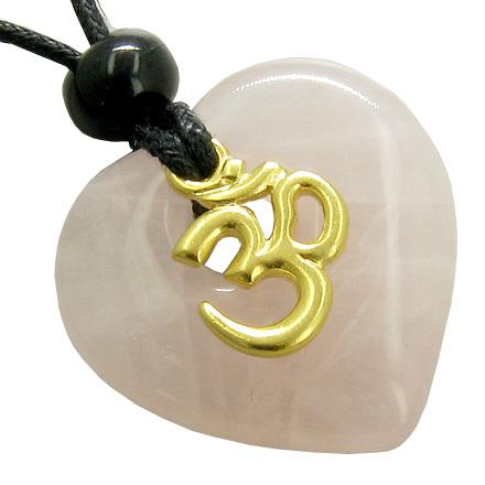 Rose Quartz Gemstone Crystal Feng Shui Jewelry and Amulets