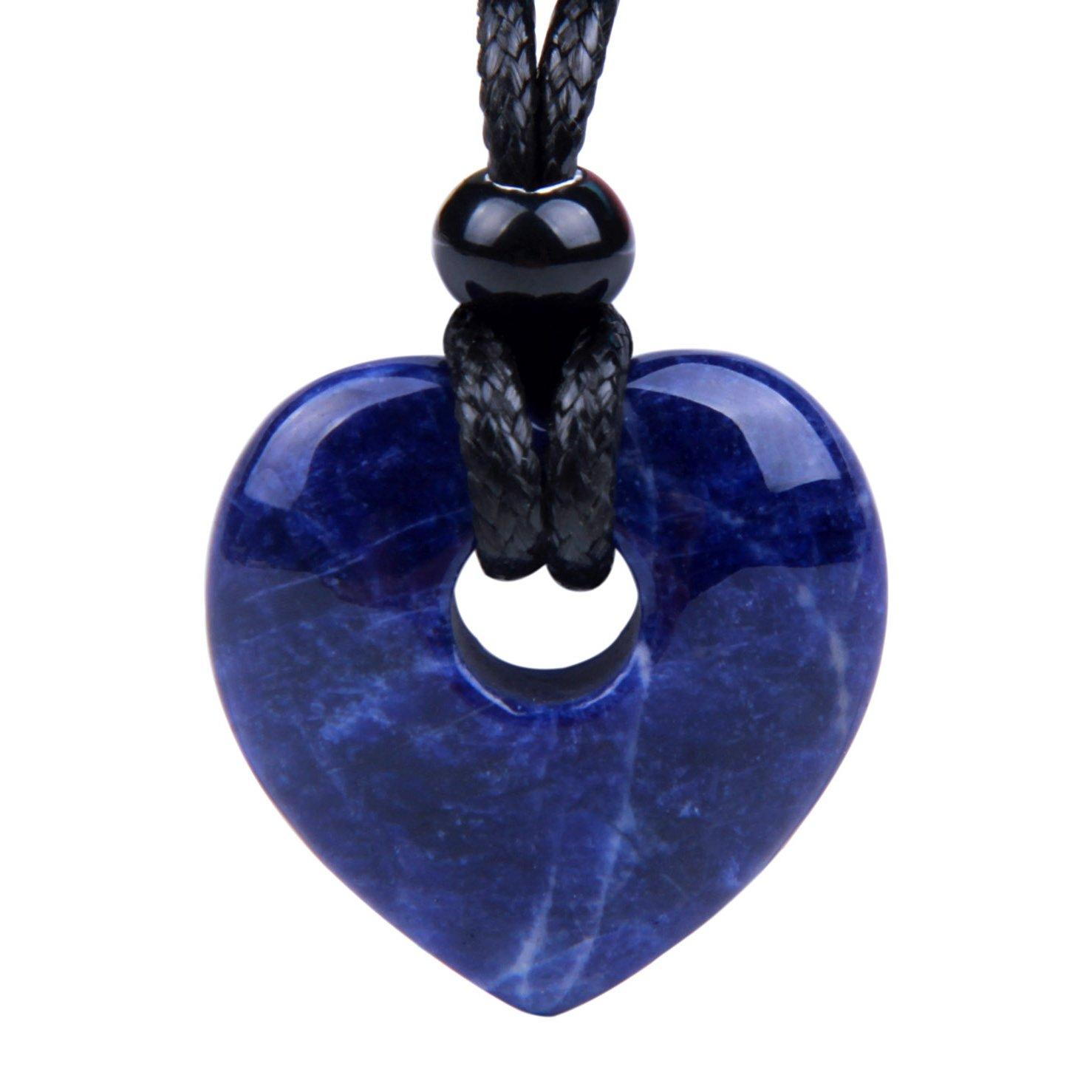 Sodalite Gemstone Heart Shaped Gifts and Jewelry