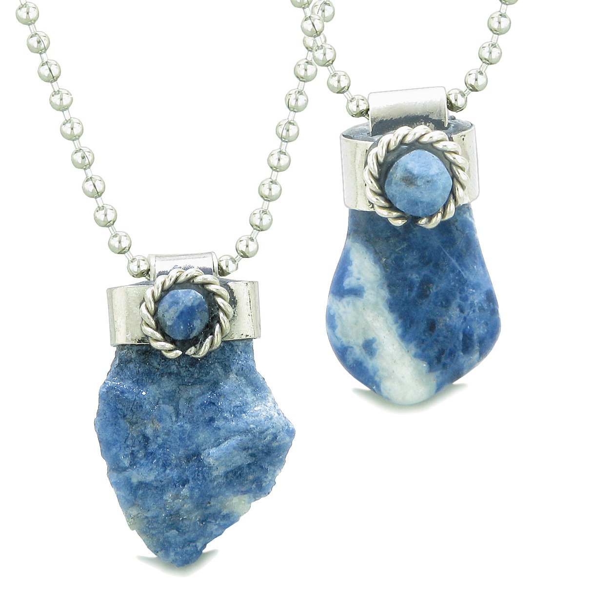 Sodalite Gemstone Love Couples and Best Friends Jewelry