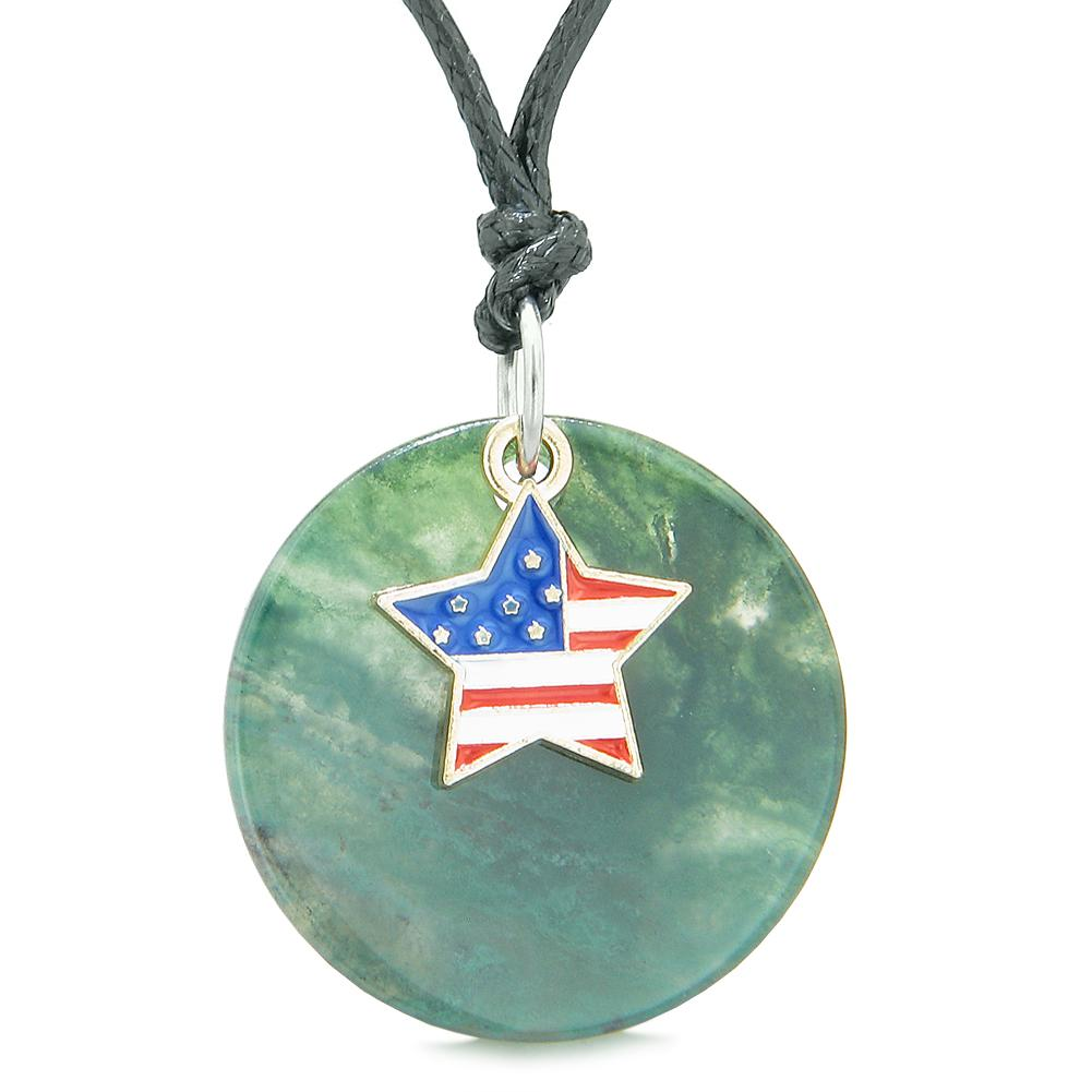 American Flag Pride Lucky Star Protection Powers Jewelry Amulets and Gifts