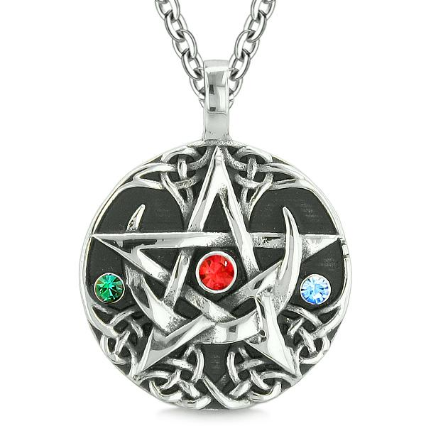 Lucky Pentacle Protection Magic Powers Fashion Jewelry Amulet Jewelry and Gifts