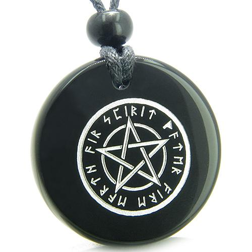 Lucky Totem Stars and Pentacle Symbols Magic Powers Natural Gemstone Jewelry and Amulets