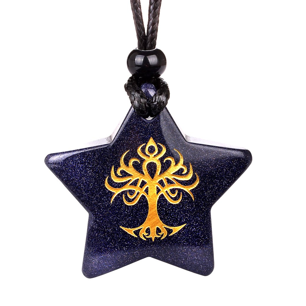 Lucky Totem Stars and Pentacle Symbols Magic Powers Jewelry and Amulets