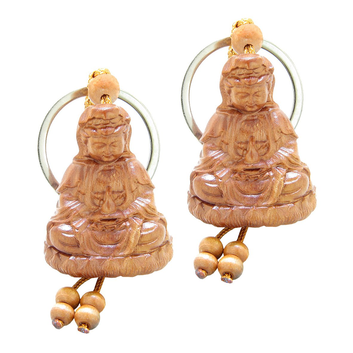 Ancient Lucky Kwan Yin Quan Tibetan Symbols Keychains Jewelry Amulets and Talismans