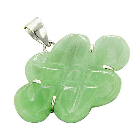 Ancient Tibetan Celtic Knots Natural Jade Gemstones Jewelry and Amulets