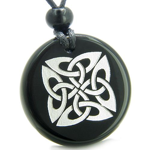 Ancient Tibetan Celtic Knots Natural Onyx and Agate Gemstones Jewelry and Gifts