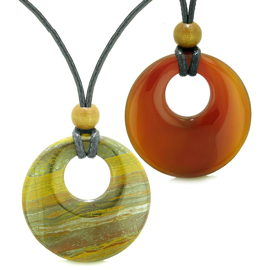 Tiger Eye Iron Gemstone Couples and Best Friends Jewelry