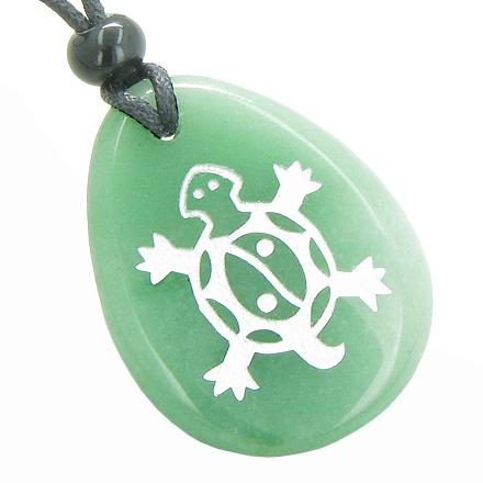 Lucky Turtle Totems Good Luck Energy Wish Stones Jewelry Amulets and Talismans