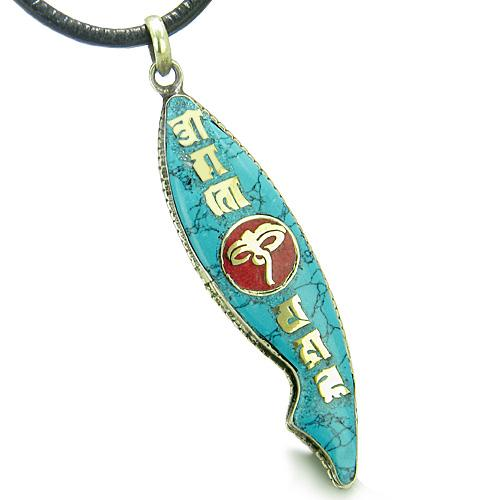 View All Turquoise Gemstone Amulets and Talismans