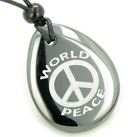 Wish Word Stones Lucky Totems Necklaces Good Luck Magic Powers Amulets and Talismans Gifts