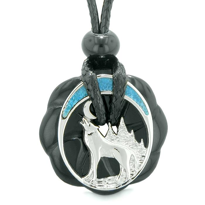 Wolf Agate and Onyx Gemstone Jewelry