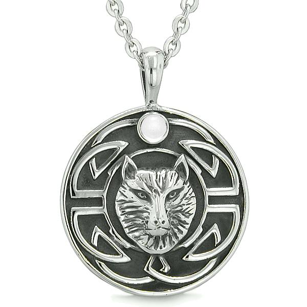 Celtic Wolf Necklaces and Charms