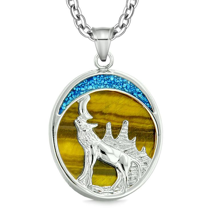 Howling Wolf Necklaces and Amulets