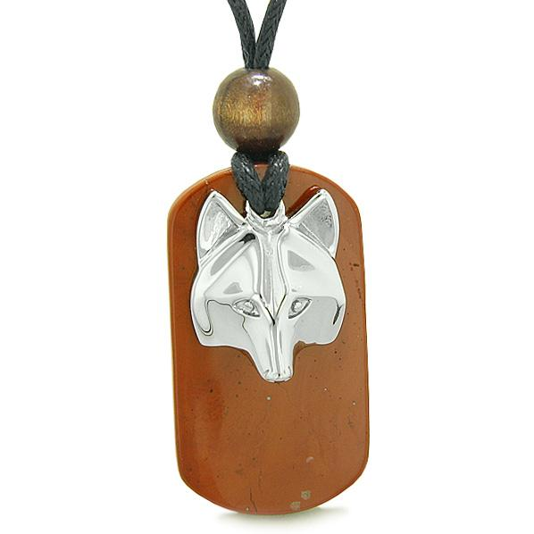 Wolf Dog Tag Jewelry and Amulets