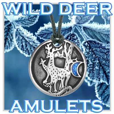 Wild Deer Totems and Amulets