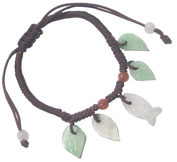 Good Luck Fish - Jade Bracelet For Baby