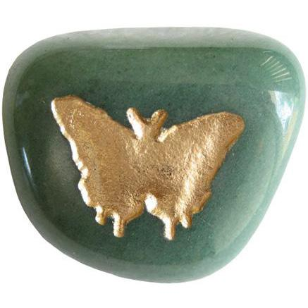 Butterfly Totem Good Luck Stone