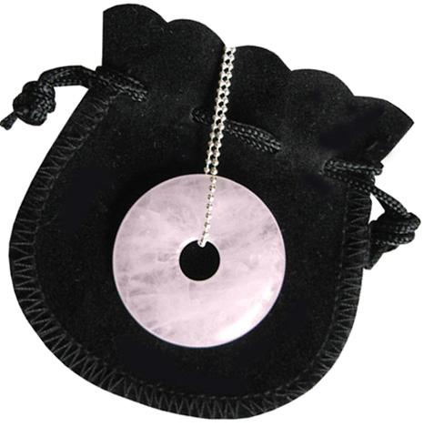 Love Talisman Donut With Silver Chain