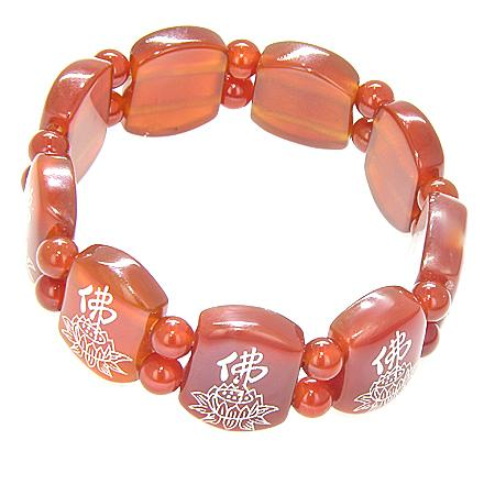 Carnelian Protection Talisman Sunflower Bracelet