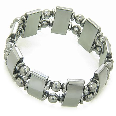 Magnetic Beautiful And Protection Magnetic Hematite Bracelet
