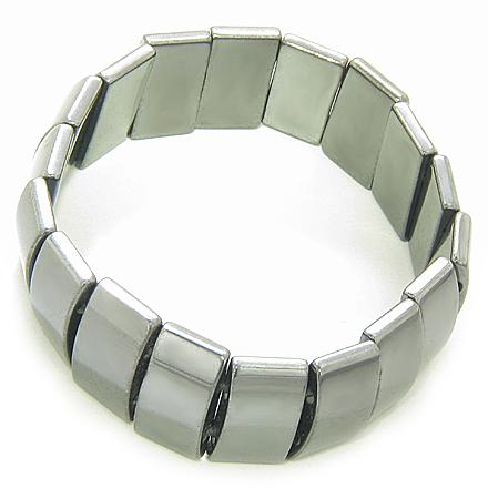 Magnetic Protection And Beautiful Hematite Bracelet