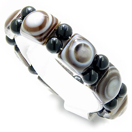 Good Luck And Protection Natural Eye Agate Bracelet