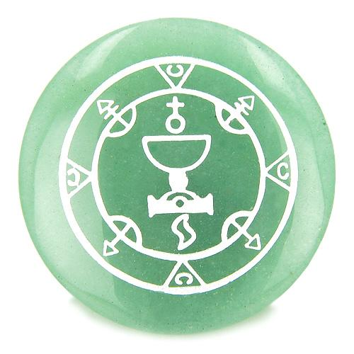 Seal of Queen Amulet Magic Gemstone Spiritual Powers Individual Totem