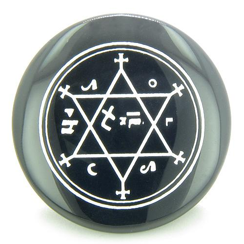 King of Solomon Circle of Pentacle Magic Hexagram Amulet Spiritual Powers Individual Totem