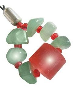 A Good Luck Money Talisman Charm In Aventurine