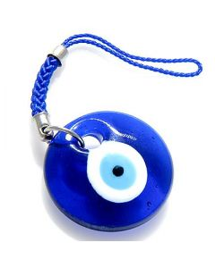 Evil Eye Protection Glass Cell Phone Charm