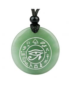 All Seeing and Feeling Eye of Horus Egyptian Amulet Magic Spiritual Pendant Necklace