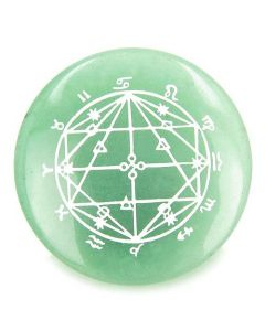 Astrological Seal Zodiac Star of David Amulet Magic Gemstone Spiritual Powers Individual Totem