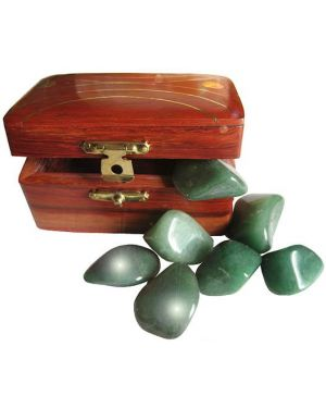 Aventurine Treasure Chest