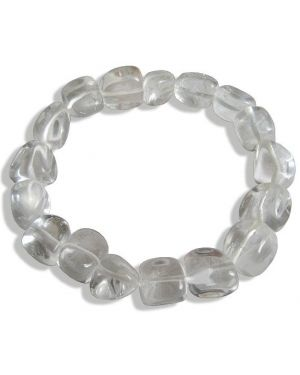 Lucky Bracelet In Crystal Quartz Crystals