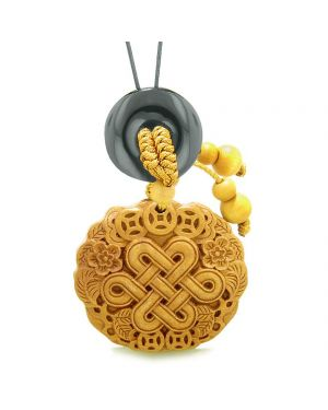 Celtic Shield Knot Lucky Coins Car Charm Home Decor Agate Donut Protection Powers Magic Amulet