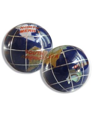 Gemstone Good Luck Globes In Lapis Lazuli