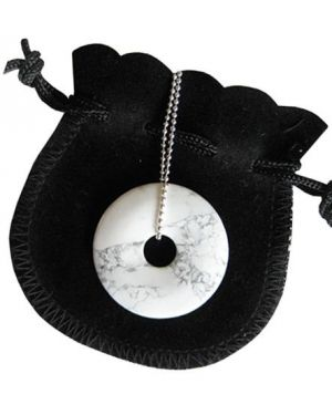 Mom To Be Talisman Donut With Silver Chain