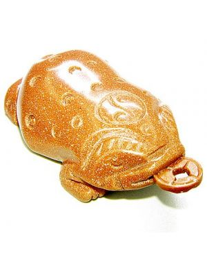 Lucky Coin Three Leg Todd Goldstone Carving