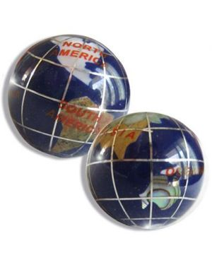 Gemstone Good Luck Globes In Lapis Lazuli Special