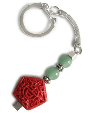 Good Luck Talisman For Money Key Chain